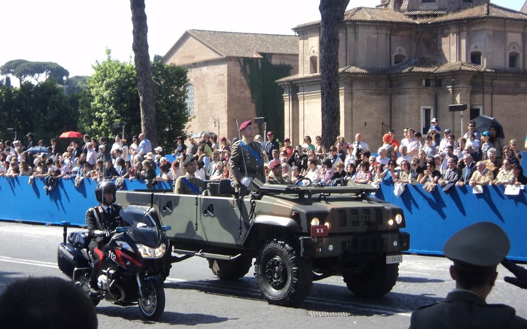 Italian Republic Holiday parade
